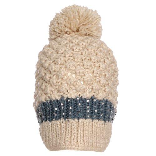 Gorro De Crochê E Pompom - Compre Agora - Feira da Madrugada SP 3be4a6df508