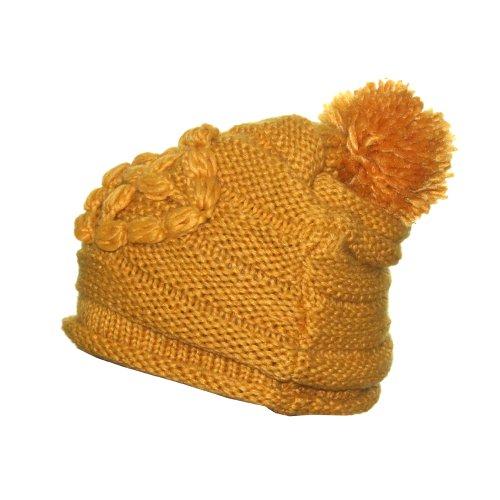 Gorro Crochê Amarelo - Compre Agora - Feira da Madrugada SP d780f333200