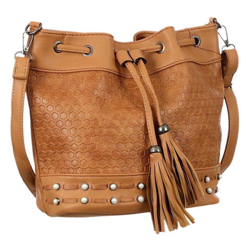 b0676f728 Bolsa Saco Com Pedrarias e Franja - Compre Agora - Feira da Madrugada SP