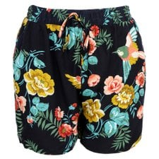 Short Com Estampa Tropical