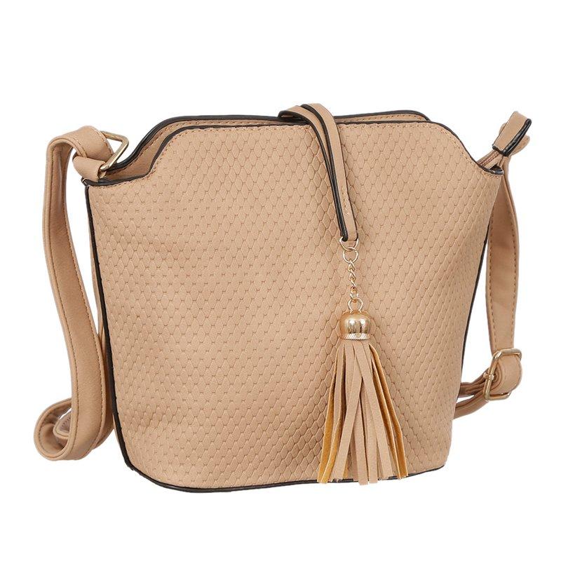 41d953dc3 Bolsa Transversal Mini Bag e com Tassel - Compre Agora - Feira da Madrugada  SP