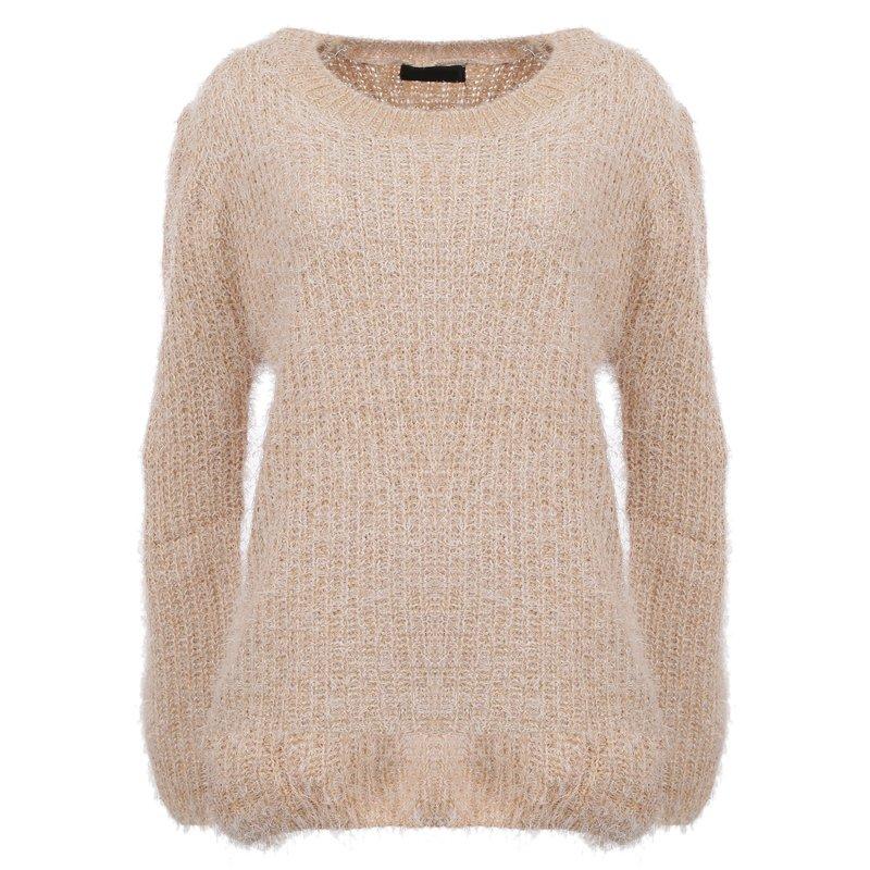 Suéter De Pelos Tecido Elástico - Compre Agora - Feira da Madrugada SP 602e9bbe1a2