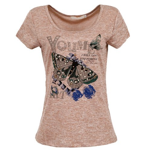 T-Shirt Sublimada Com Pérolas Bordadas