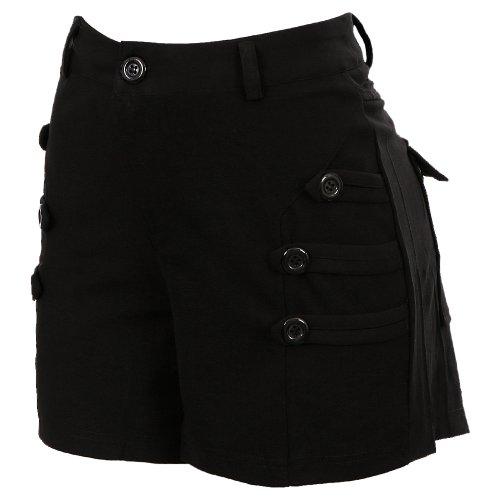 Short Crepe Cintura meia Alta Tecido Leve - Compre Agora - Feira da ... 425919edec6