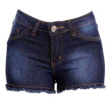 Shorts Hot Pants Destroyed Com Elastano