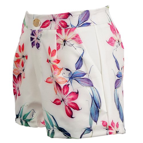 Short Com Estampa Floral