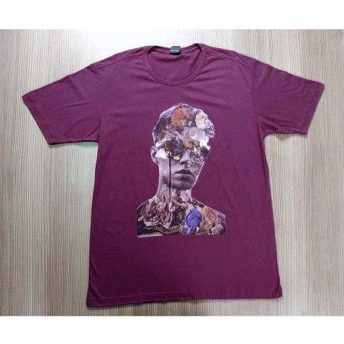 Camiseta Estampada Manga Curta Masculina - Compre Agora - Feira da ... 367ce1fce0a3c