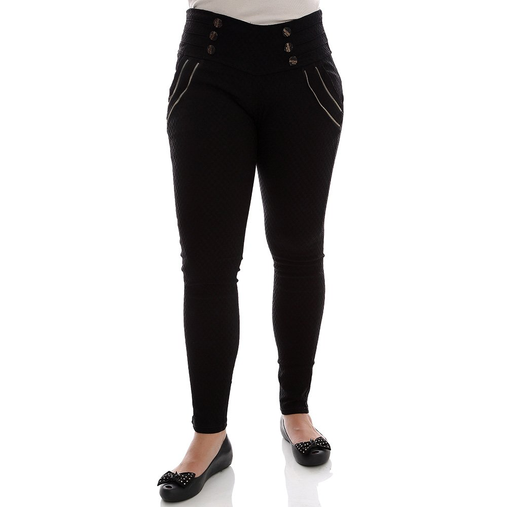 73c6ef9e2e Calça Jeans Feminina Destroyed Com Patch - Compre Agora - Feira da  Madrugada SP