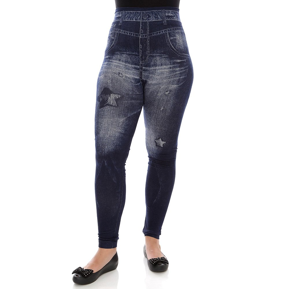 8a7996a7c8 Calça Feminina Cotton Com Fivela Metálica - Compre Agora - Feira da  Madrugada SP