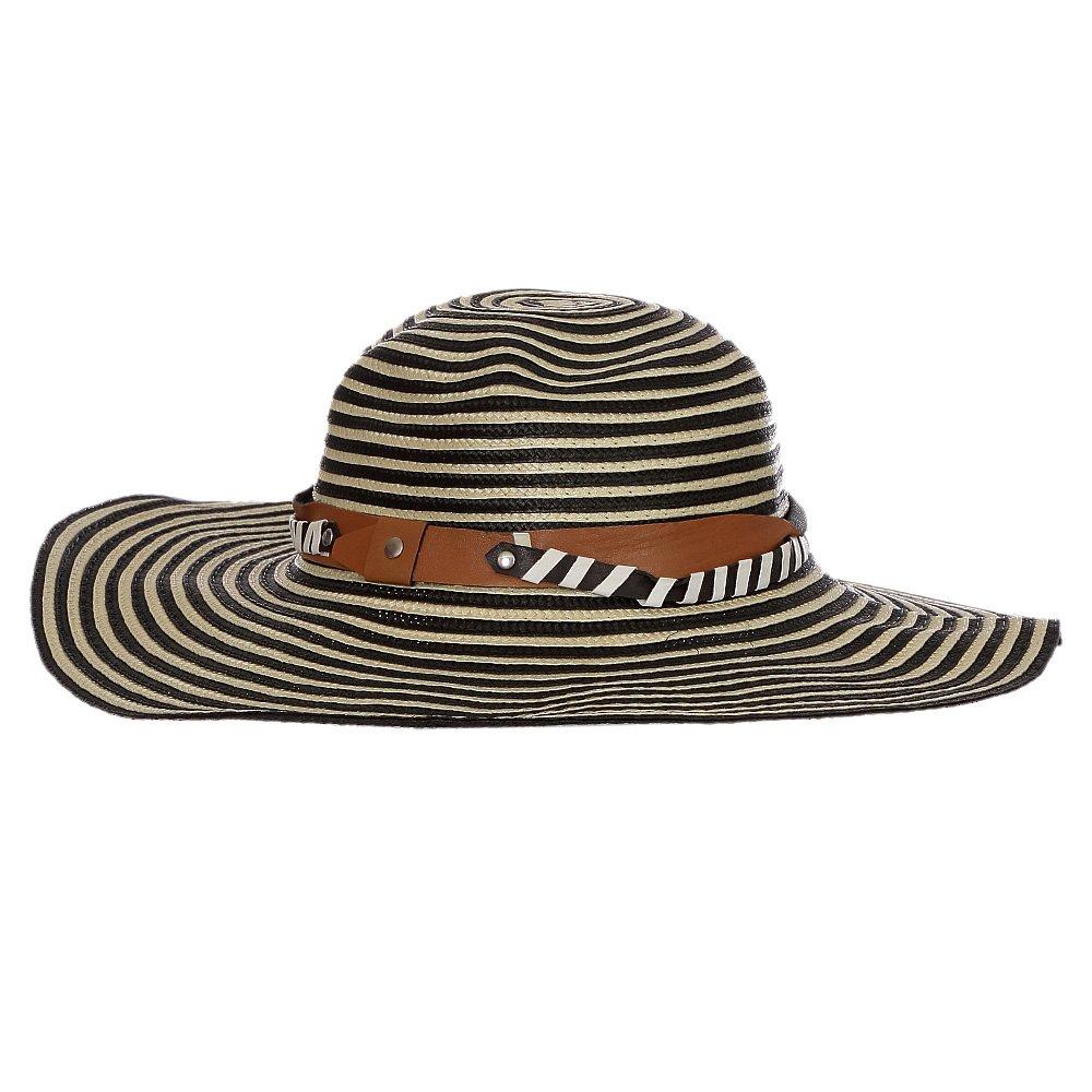 Chapéu Feminino Praia Aba Grande Colorida Com Fita Decorativa - Compre  Agora - Feira da Madrugada SP 57350e99707