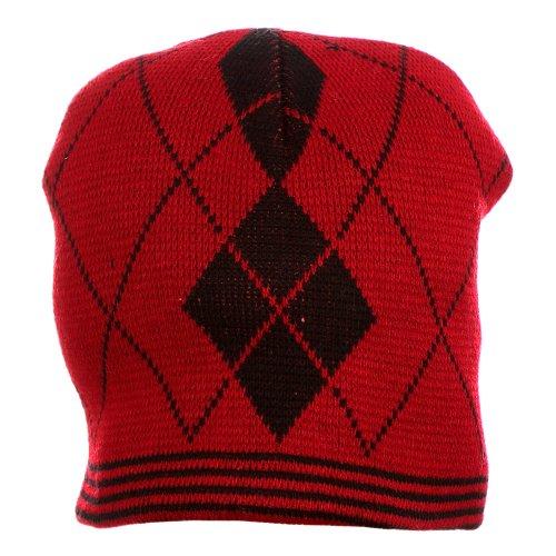 Touca Vermelha Estampada - Compre Agora - Feira da Madrugada SP cf6f28cb654