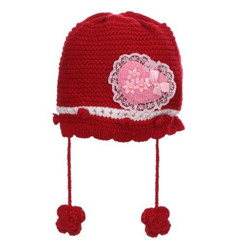Gorro De Tricot Vermelha Infantil - Compre Agora - Feira da Madrugada SP c37a9ba1b0a