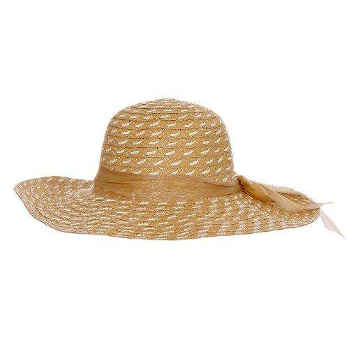 Chapéu De Praia Floppy Caqui Com Laço - Compre Agora - Feira da ... 2dc17a5ef17