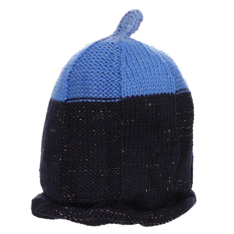 ce0879f1d4 Touca Azul Infantil De Crochê - Compre Agora - Feira da Madrugada SP