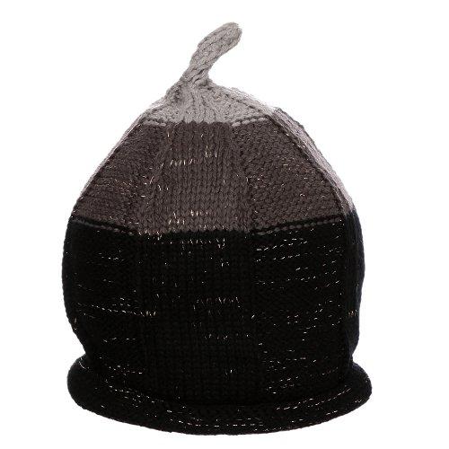 Touca Preto Infantil De Crochê - Compre Agora - Feira da Madrugada SP 9720863f900