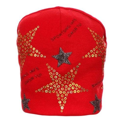 Touca Vermelha Infantil Star Bordada - Compre Agora - Feira da ... e40b2af5a1c