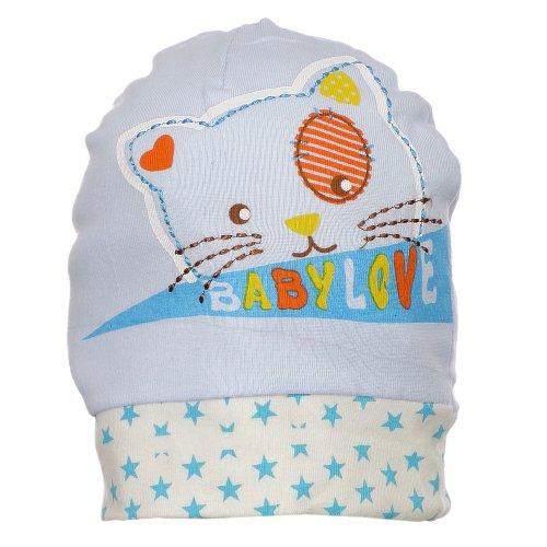 Touca Azul Estampada Intanfil - Compre Agora - Feira da Madrugada SP 2a3bb907067