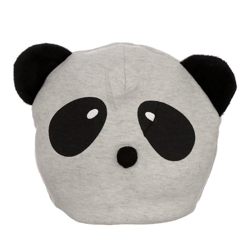 Touca Cinza Infantil Panda - Compre Agora - Feira da Madrugada SP 0bd05df4bfe