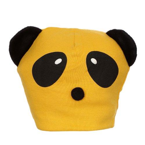 Touca Infantil Amarela Panda - Compre Agora - Feira da Madrugada SP 3addcece56a