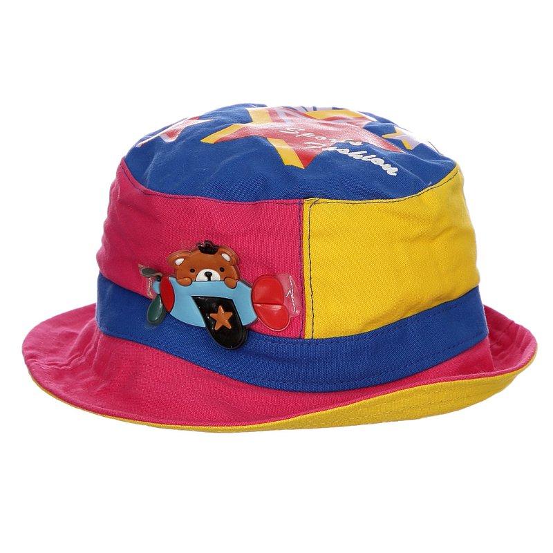 741f61f2a6d92 Chapéu Infantil Rosa De Praia Estampa Em Alto Relevo - Compre Agora - Feira  da Madrugada SP