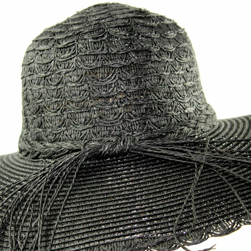 Chapéu De Praia Feminino Com Fita Trançada - Compre Agora - Feira da ... c9a688be786