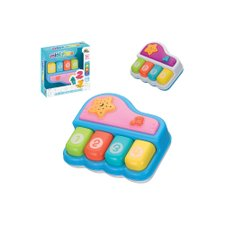 Mini Piano Infantil Musical Com Led Colorido