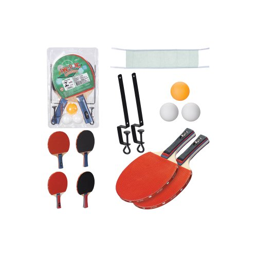 83946bb3a4 Kit Tênis De Mesa Com 3 Bolinhas + Rede + 2 Raquetes - Compre Agora ...