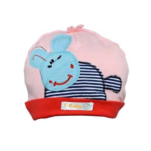 Touca Infantil Rosa E Azul Com Bichinho - Compre Agora - Feira da ... ecf7c3d6751
