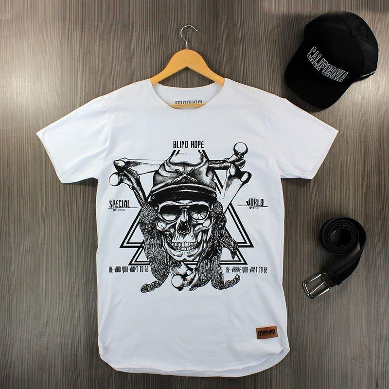 4d3ee0bd8117 Camiseta Masculina T-Shirt Manga Curta Estampa Frontal - Compre Agora -  Feira da Madrugada SP