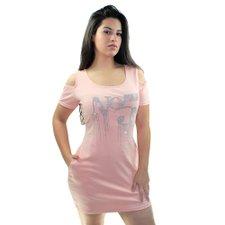 8b64a3a8c2be6 Vestido Curto Estampa Em Strass - Compre Agora - Feira da Madrugada SP