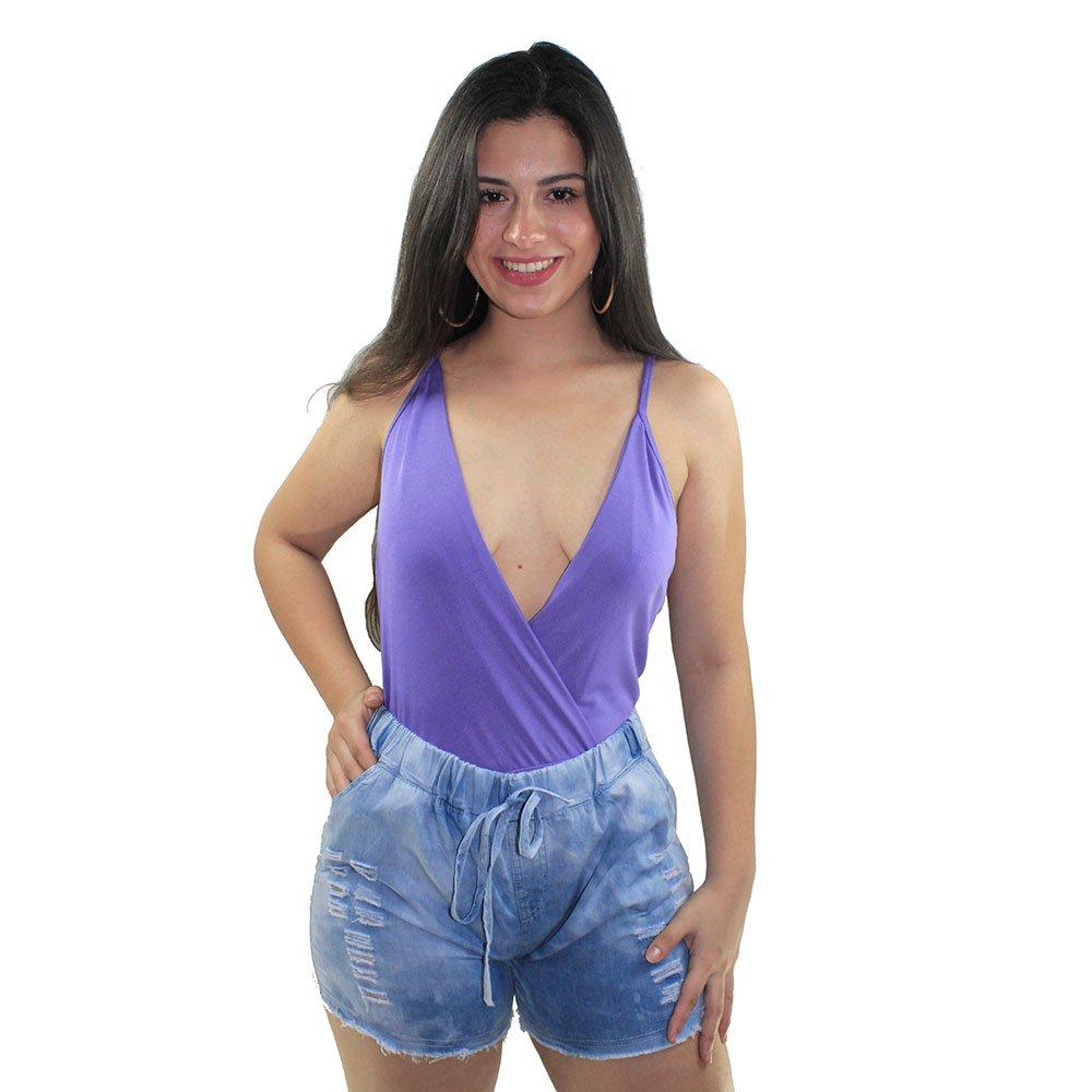 1f725d1e292 Body Peplum Preto Feminino Decote Ombro A Ombro - Compre Agora - Feira da Madrugada  SP