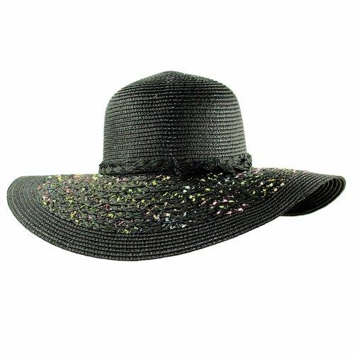 Chapéu Feminino Aba Colorida Com Fita Trançada - Compre Agora ... 614cee0d79b