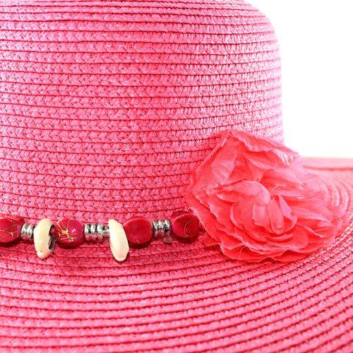 Chapéu Floppy Feminino Modelo Praia Com Fita Decorativa - Compre ... b814d79b705