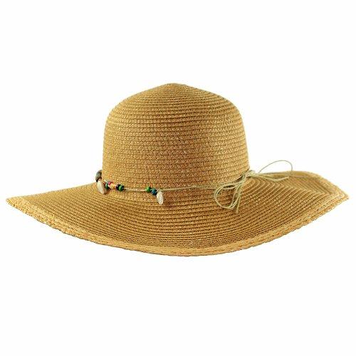Chapéu Feminino Praia Com Fita Colorida - Compre Agora - Feira da ... fe6a5b7c558