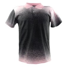 Camisa Polo Masculina Estampa Degradê