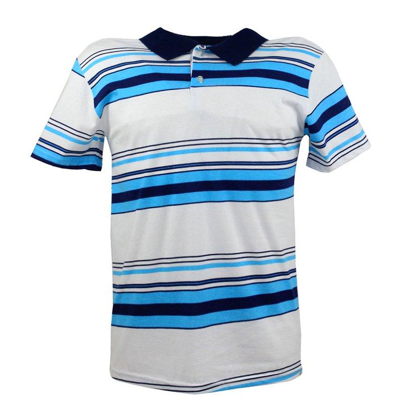 33f7c57030 Camisa Polo Masculina Estampa Listrada - Compre Agora - Feira da Madrugada  SP