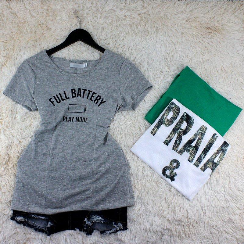 f102f2fd5 Kit 3 Blusas Femininas Estampas Diversas - Compre Agora - Feira da Madrugada  SP