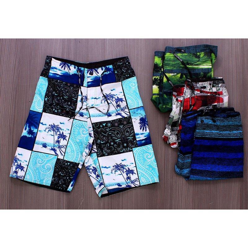 7bb56d7419 Kit 4 Bermudas Tactel Masculina Estampas Diversas - Compre Agora - Feira da  Madrugada SP