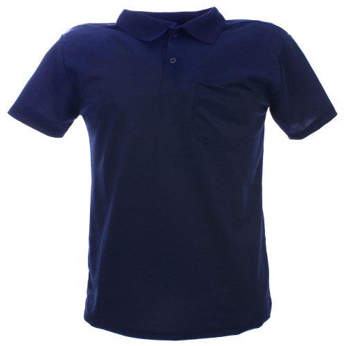 Camisa Polo Piquet Masculina Com Bolso Frontal - Compre Agora ... aaea4f72e0896