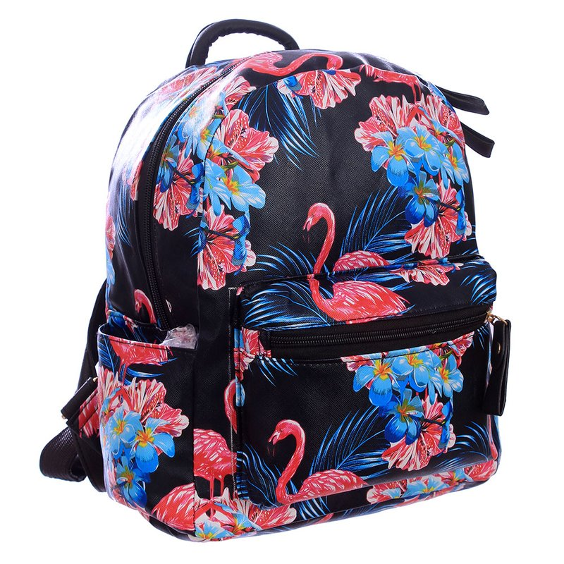 370a2fc54 Mochila Feminina Escolar Estampada - Compre Agora - Feira da Madrugada SP
