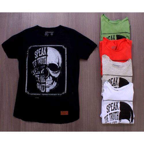 1d8ae0c171891 Kit 5 Camisetas T-Shirt Estampas De Caveira Masculina - Compre Agora ...