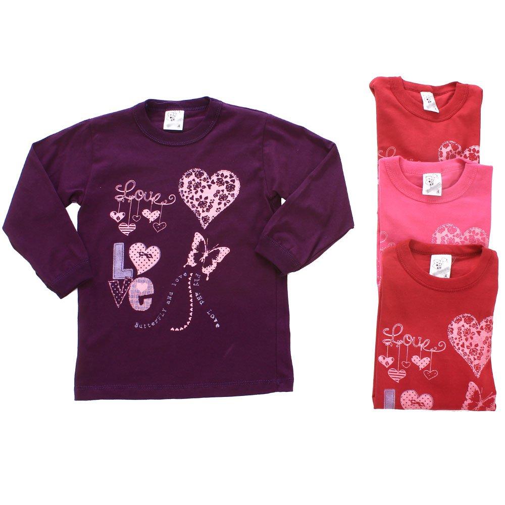 33298e48d4 Kit 4 Camisetas Masculina Manga Longa Estampada Infantil - Compre Agora -  Feira da Madrugada SP