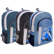 Kit 3 Mochilas Estampadas Escolares