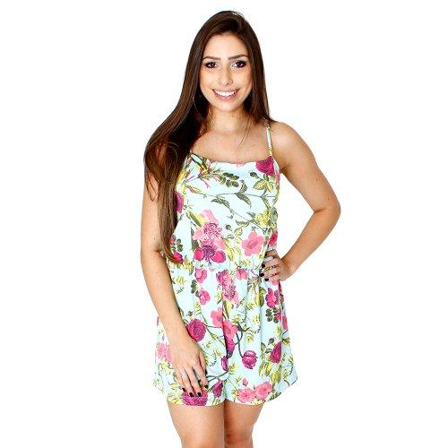 ed5ac3a328 Macaquinho Regata Floral Feminino - Compre Agora - Feira da Madrugada SP