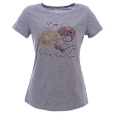 Camiseta Feminina Bordada