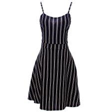 03ac1c572 Vestido Regata Godê Listrado - Compre Agora - Feira da Madrugada SP