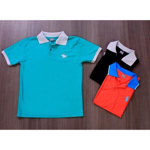 Kit Com 3 Camisas Polo Masculina - Compre Agora - Feira da Madrugada SP 8d1aaf5c8fae8