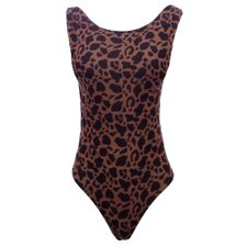 Body Regatão Estampa Animal Print Feminino