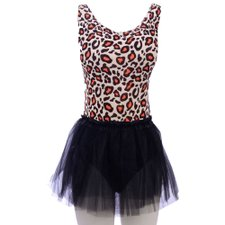 Kit Carnaval Estampa Animal Print Body + Saia Tutu Lisa