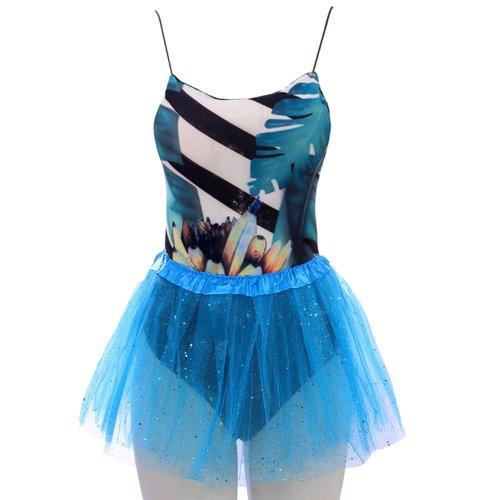 2b347bad038 Kit Feminino Carnaval Body Estampado + Saia Tutu Glitter - Compre ...